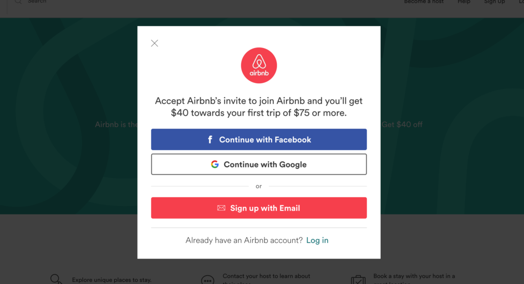 Airbnb coupons uk 2018