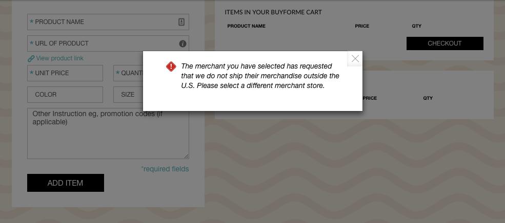 Supreme Online Store Card Declined Error - Alex Kwa