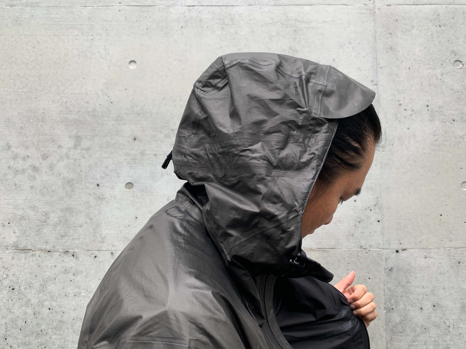 A packable rain jacket that looks as good as it works.