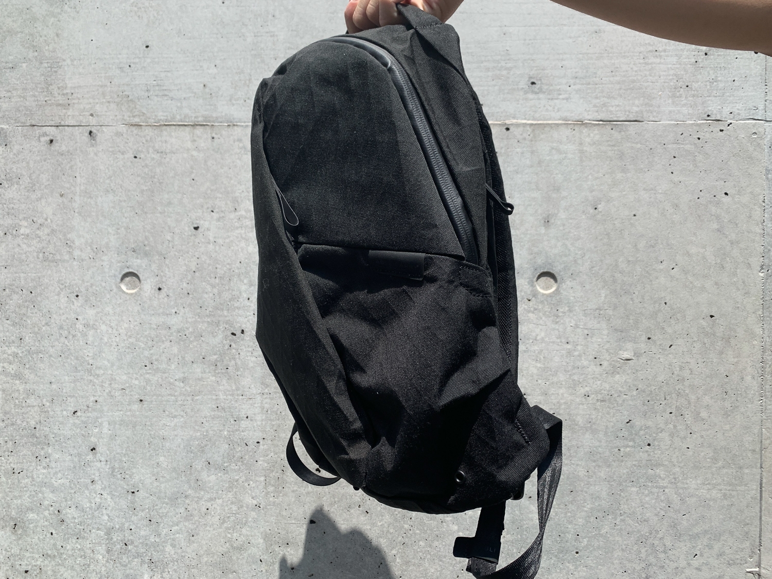 A small backpack that packs a punch.