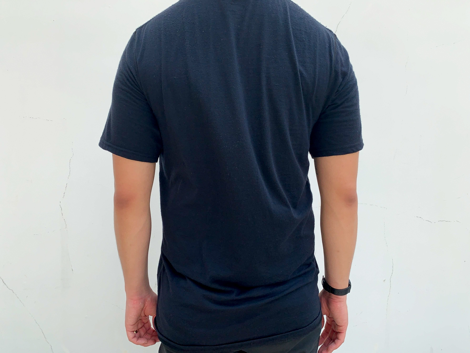 The back of the WoolX Endurance Tee.