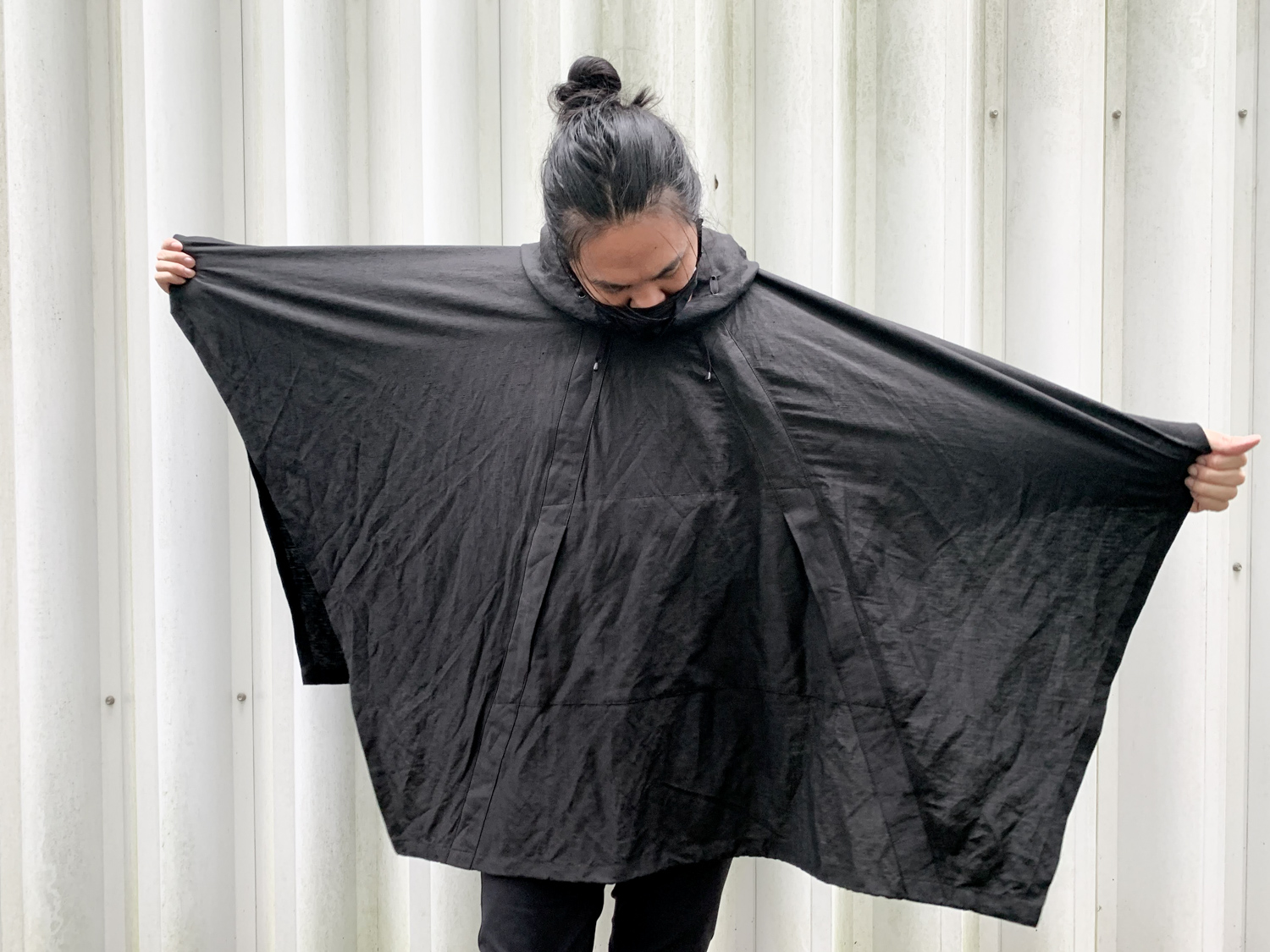 Poncho to keep you dry and looking good.