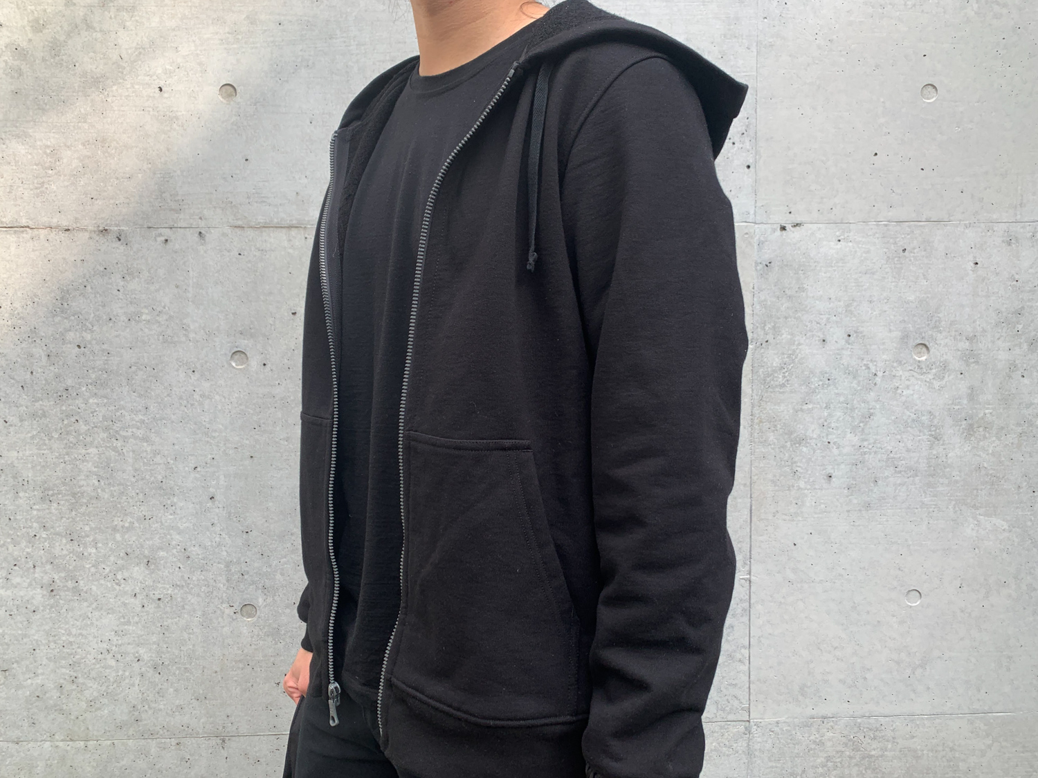 The merino wool hoodie gives you comfort that you can sleep in.