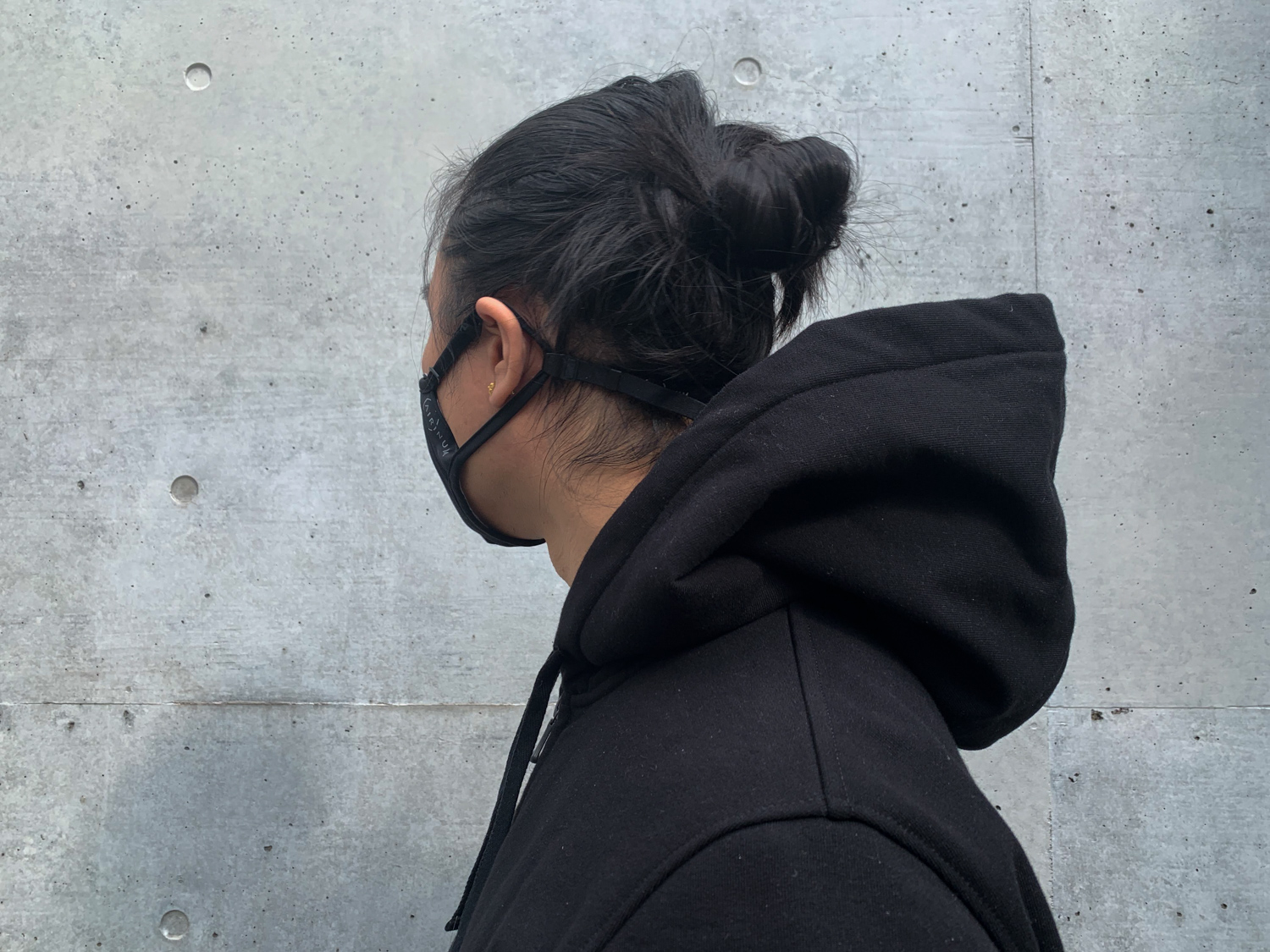 A merino wool hoodie so tough, it retains structure on its own.
