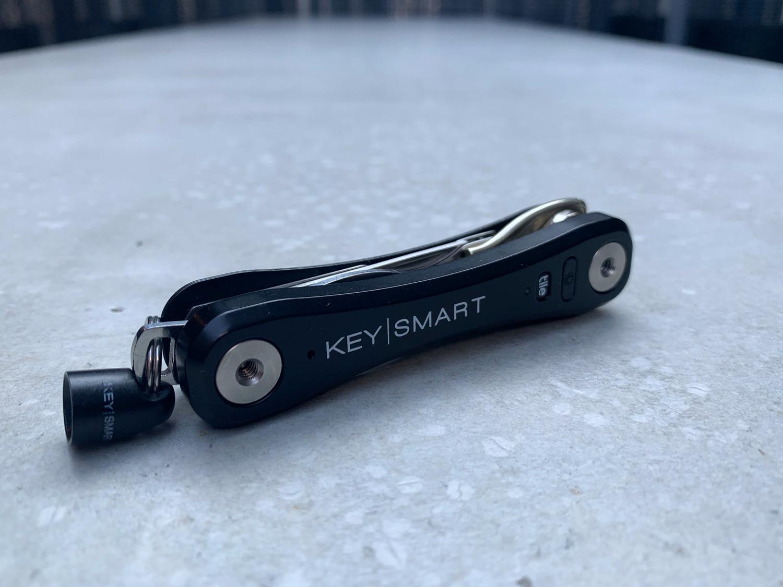 Key holder that packs small.