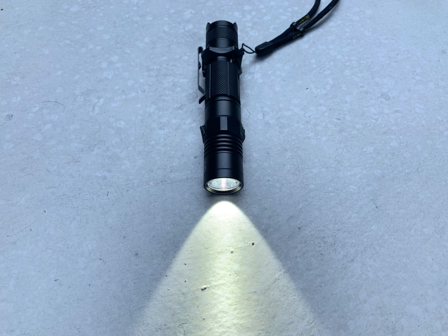 This rechargeable flashlight lets you charge it with just a micro-USB cable.