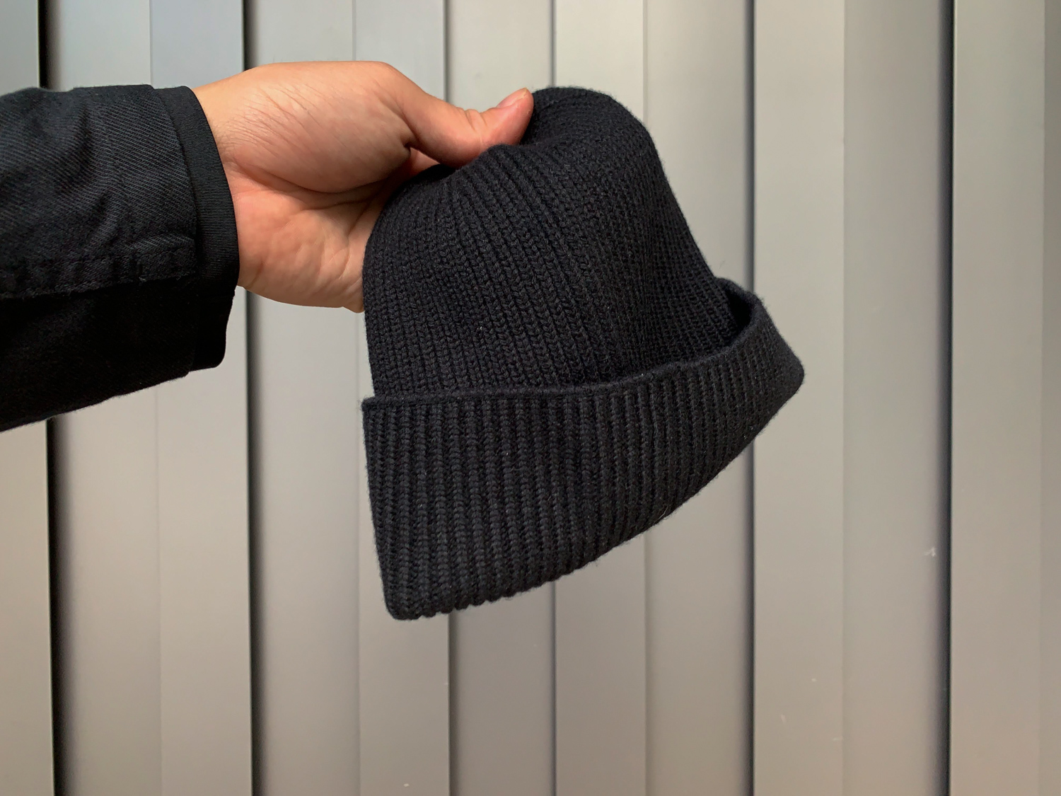 100% merino wool watch cap for everyday wear.