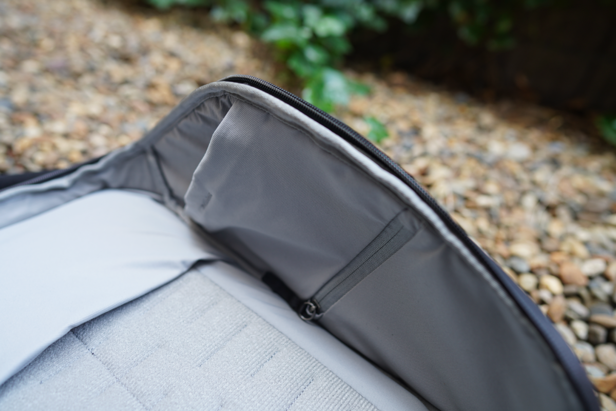The Peak Design Everyday Backpack has organization inside its main compartment.
