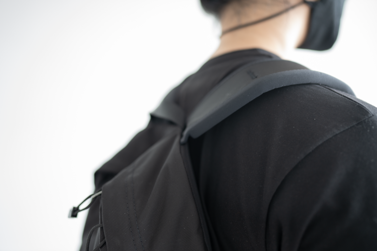 The padding in the shoulder straps jutted into your back at times.