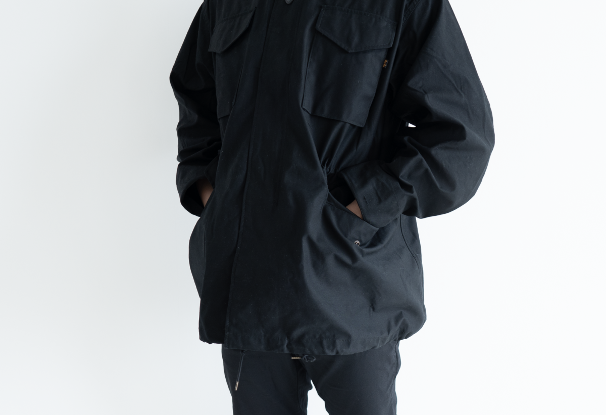 Pockets on the Alpha Industries M-65 are great as handwarmer pockets.