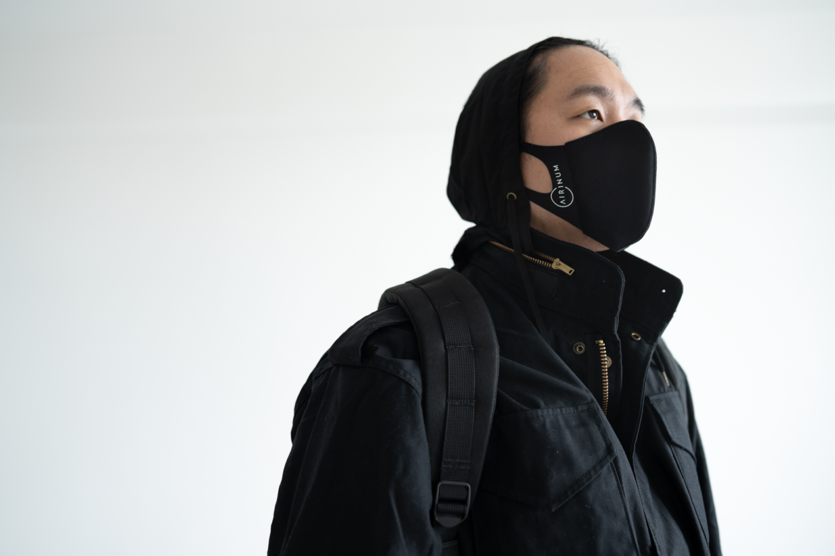 The hood on the Alpha Industries M-65.