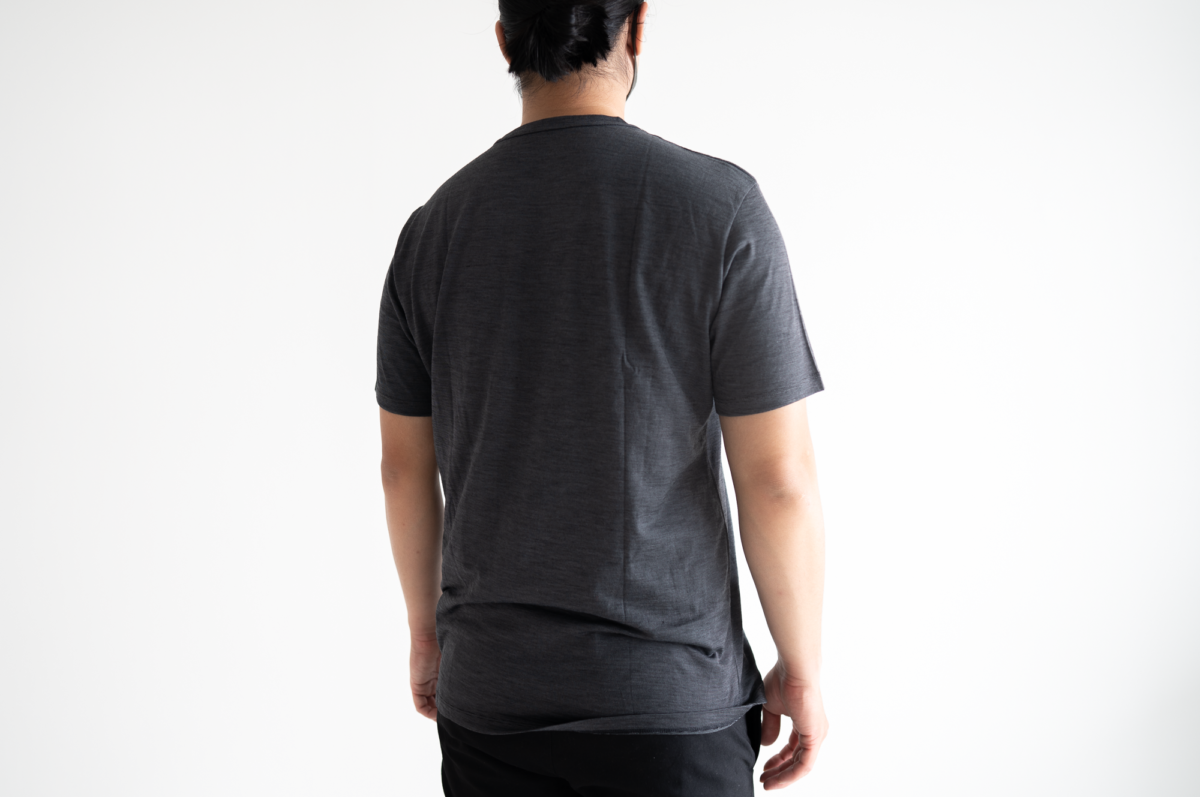 The large size of the Wool&Prince Pocket Tee.