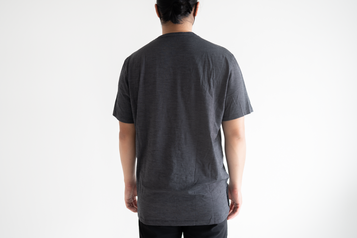 The extra large size of the Wool&Prince Pocket Tee.